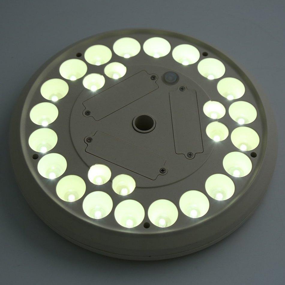 26 LEDs UFO Design Solar Power Lights for Flagpoles Outdoor Garden Decoration Novelty Industrial LED Garden Automatic Brightness(China (Mainland))