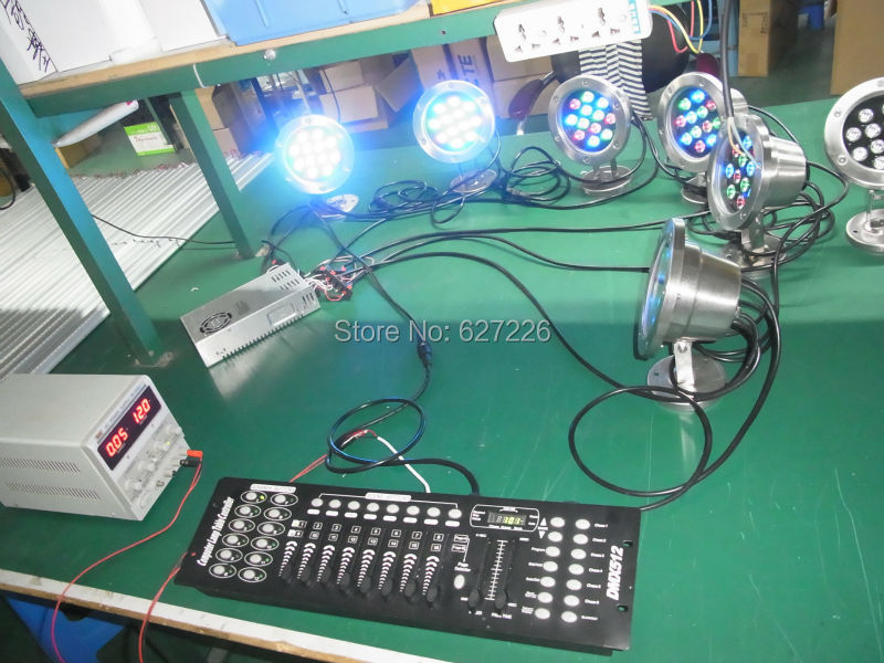 1921/1922 DMX512 Console stage lighting controllers DJ equipment DMX Controller DMX Floodlights Wall Washer Underwater lights