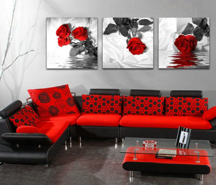 rote rose leinwand werbeaktion shop f r werbeaktion rote rose leinwand bei. Black Bedroom Furniture Sets. Home Design Ideas