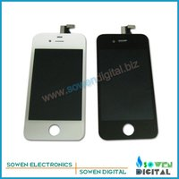 For iPhone 4s LCD Display+Touch Screen digitizer+Frame assembly,Free Shipping,100% gurantee Original LCD,Best price,best quality