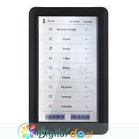 "Электронная книга 7"" TFT Ebook Reader 4G 800 X 480 tXt PDF DOC e + PU"