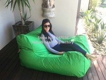 Lime green Large bean bag sofa seat furniture, outdoor beanbag chairs, double room set(China (Mainland))