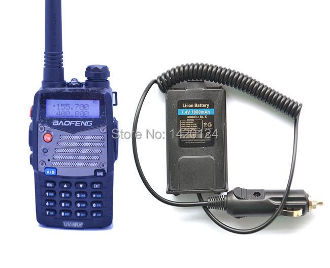 Radio sets New Black BAOFENG UV-5RA+PLUS amateur walkie talkie VHF/UHF Dual Band ham two way Radio +Original Battery Eliminator(China (Mainland))