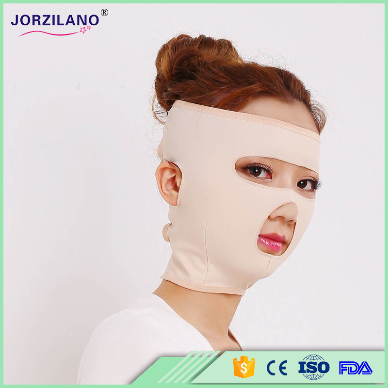 Full Face-lift masks,Health Care Thin Face Mask Slimming Facial Thin Masseter Double Chin Beauty Face Lifting Bandage Belt(China (Mainland))