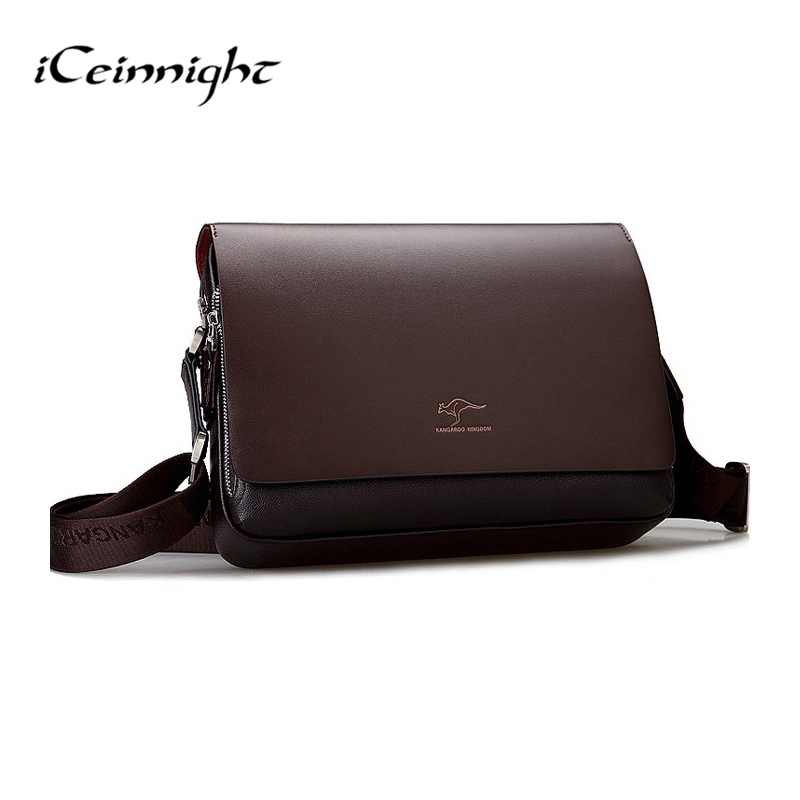 famous brand Vertical and cross red and black small Promotion Men Messenger Bags, business men small hand bag black PU leather(China (Mainland))