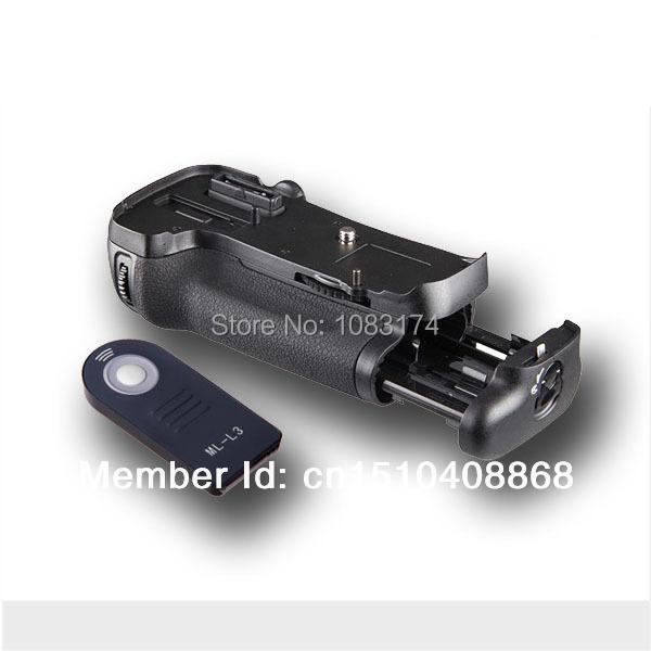 Vertical Battery Grip Holder MB-D140 Nikon DSLR Camera D600 D610 EN-EL15+ML-L3 freeshipping - Professional camera accessories store