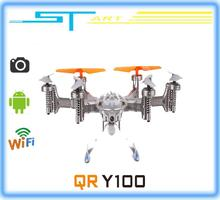 2014 New Walkera QR Y100 FPV Wifi Aircraft UFO RC Quadcopter Drone helicopter with camera brushless motor VS dji phantom hobbies