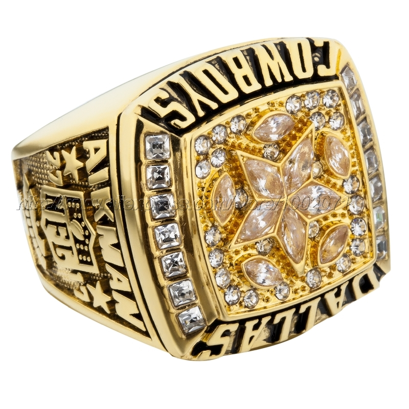 (3 pieces/lot) 1995 Dallas Cowboys Super Bowl Football Championship Ring Best Fan Gift for Men Jewelry high quality(China (Mainland))
