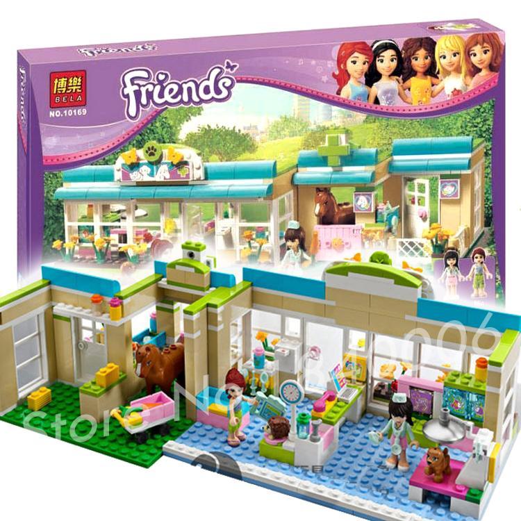 2015 new bela Girls Friends Set Series Heartlake VetMia Building Bricks Blocks Minifigure Toy