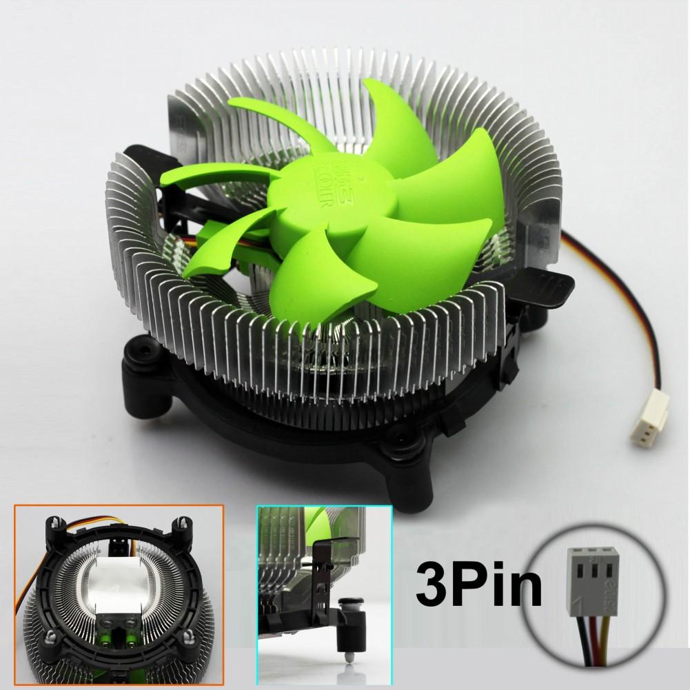 Fan Controller Heatsink 1pcs Free Shipping 90mm 3pin 12v Cpu Cooling Cooler Pc Ultra Silent Support ,amd Am2/am2+/am3 #fs034(China (Mainland))