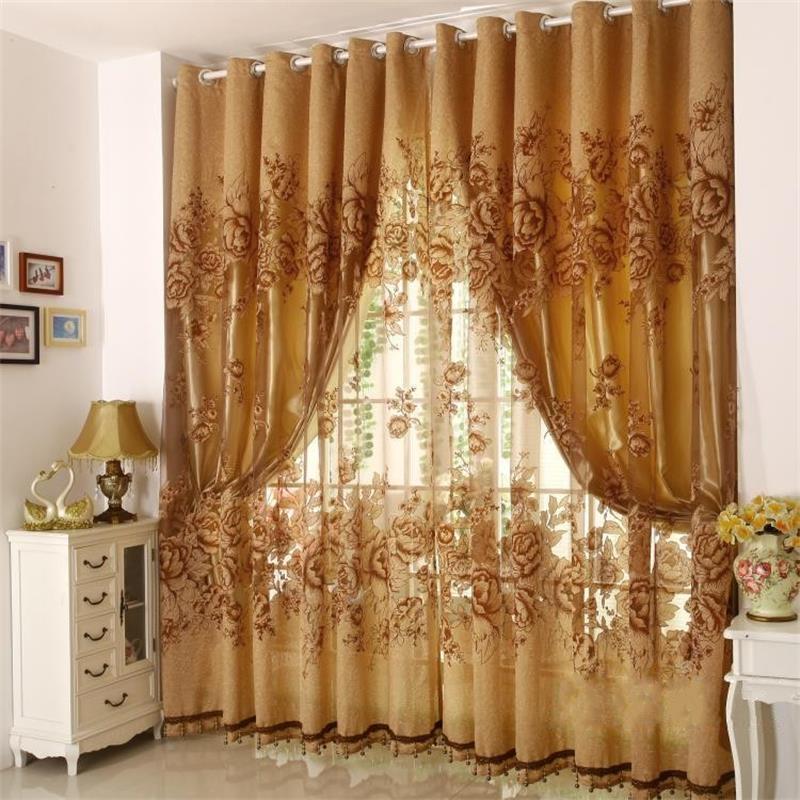 Achetez en gros de luxe rideau conceptions en ligne des for Style de rideaux pour salon