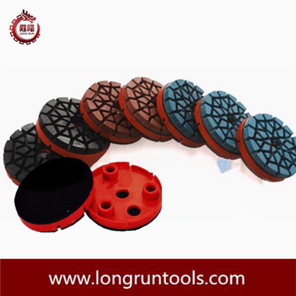 """4"""" Resin Wet Diamond Polishing Pads for Klindex Machine(China (Mainland))"""