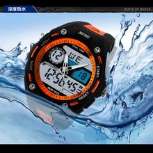 Skmei Watch 50M Waterproof Men LED Digital Military Watch Dive Swim Dress Sports Watches Fashion Outdoor Men Wristwatches(China (Mainland))