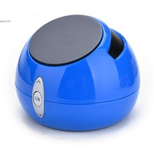 Hot! 2014 nouvelle mode Mini Subwoofer sans fil Bluetooth Speaker Music Player Mic TF Radio / FM Stand For Smartphone / PC 29
