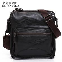 Buy FEIDIKABOLO New Man Leather Bag High Fashion Shoulder Bags Men Bag Messenger Male Bag Designer Brand Luxury Handbags for $21.60 in AliExpress store