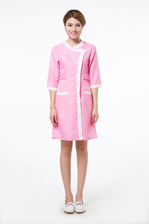 2015 OEM lab coat cotton medical nurse clothing factory direct sale(China (Mainland))