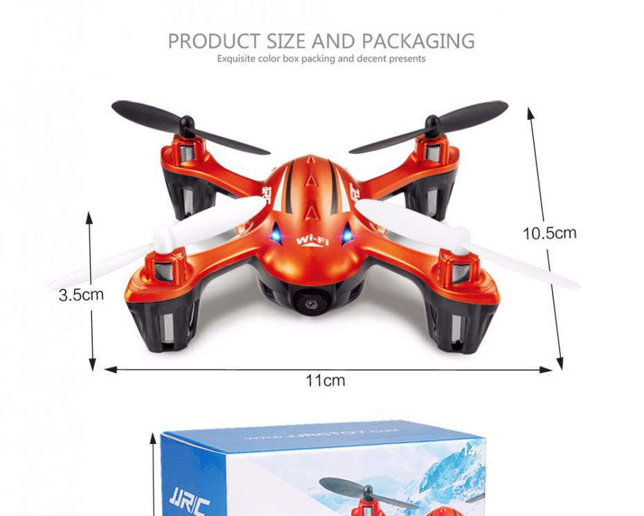 Mini Fpv Quadcopter With Camera HD Wifi Real-time Transmission Dron Jjrc H6w Rc Drones Remote Control Toys Flying Rc Helicopter