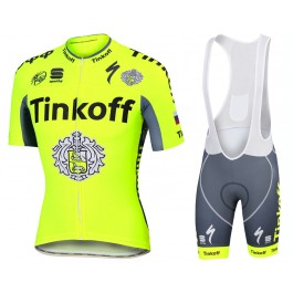 2016tinkoffking Bao Bao cycling wear / fluorescent yellow handsome sports clothes New Jersey bicycle sport shirt(China (Mainland))