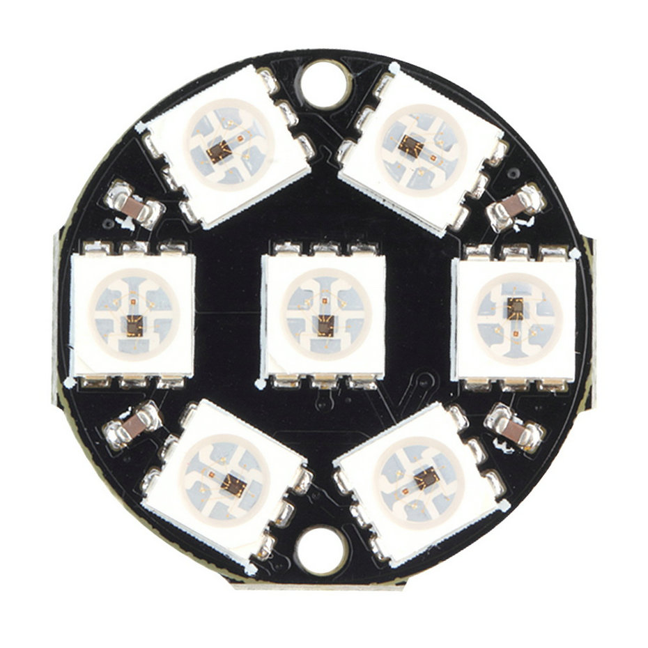 Гаджет  1pc WS2812 5050 RGB Built-in LED 8 Colorful LED Round-Shaped Module for Arduino Hot Worldwide Promotion None Свет и освещение