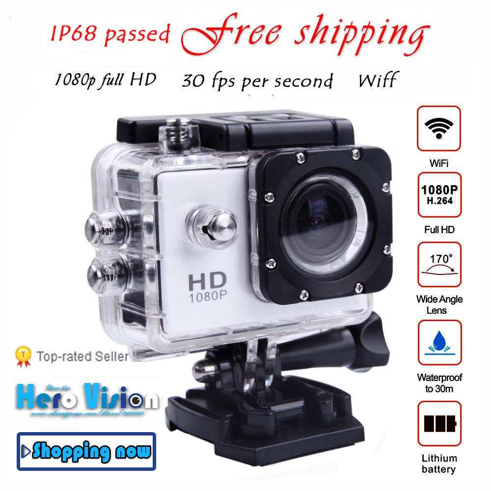 Go pro Camera WiFi Action Camera Style 1080p full HD Camera Waterproof gopro hero 3 hero 4 camcorder style digital car camera(China (Mainland))