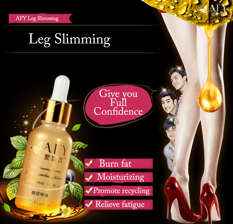 Hot Afy Powerful Effect Leg Slimming Essential Oil ...