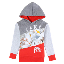 newest kids pullover hoody snowman NOVA kids braned baby clothes striped children's hoodies cartoon character boys winter coats(China (Mainland))