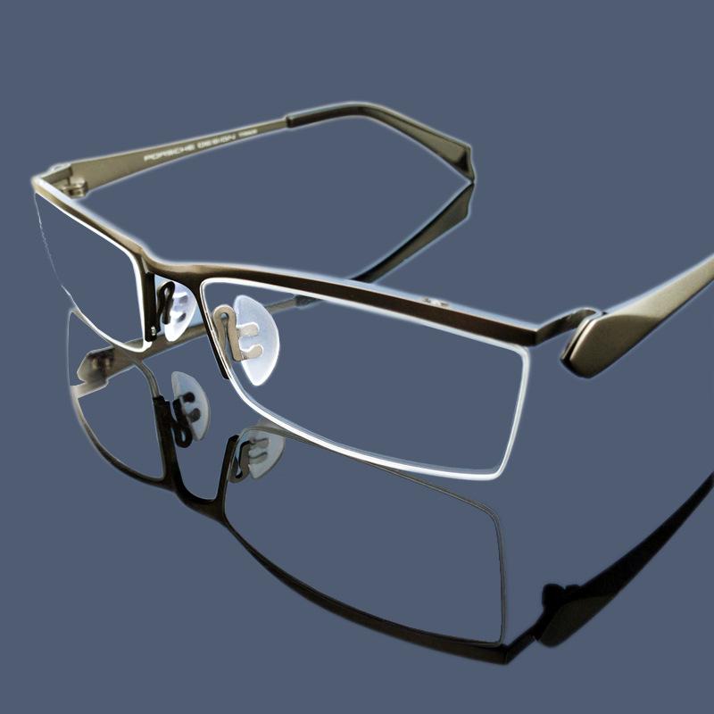 2016 titanium business half frame glasses ultralight glasses for men wholesale PG004Одежда и ак�е��уары<br><br><br>Aliexpress