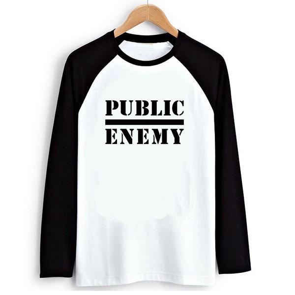 Raglan T-shirt 1 public Enemy 2