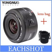 Buy Stock! Yongnuo 35mm lens YN35mm F2 lens Wide-angle Large Aperture Fixed Auto Focus Lens canon EF Mount EOS Cameras for $84.55 in AliExpress store
