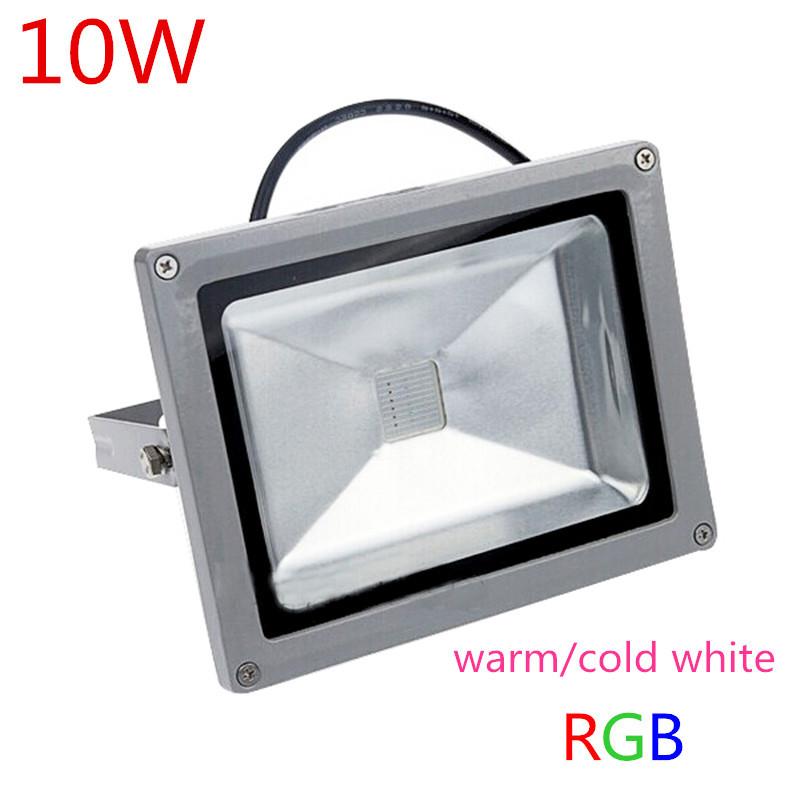 10w rgb refletor led flood light floodlight led color changing. Black Bedroom Furniture Sets. Home Design Ideas