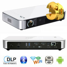 XGIMI Z3+ SLP 1280x800 1500lums MINI DLP projector Andriod4.4 WIFI Miracast Blutooth Smart 3D Portable Proyector 300 inch Screen(China (Mainland))
