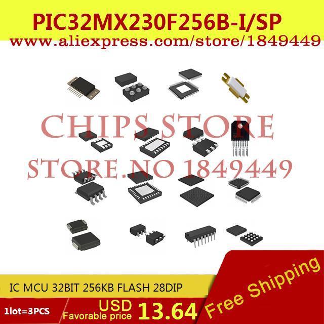 Цена PIC32MX230F256B