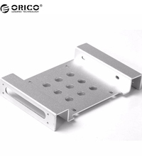 ORICO New Arrival 5.25 inch to 2.5 or 3.5  All-in-1 Hard Drive HDD SSD Converter Adapter Mounting Bracket-Silver( AC52535-1S-SV)(China (Mainland))