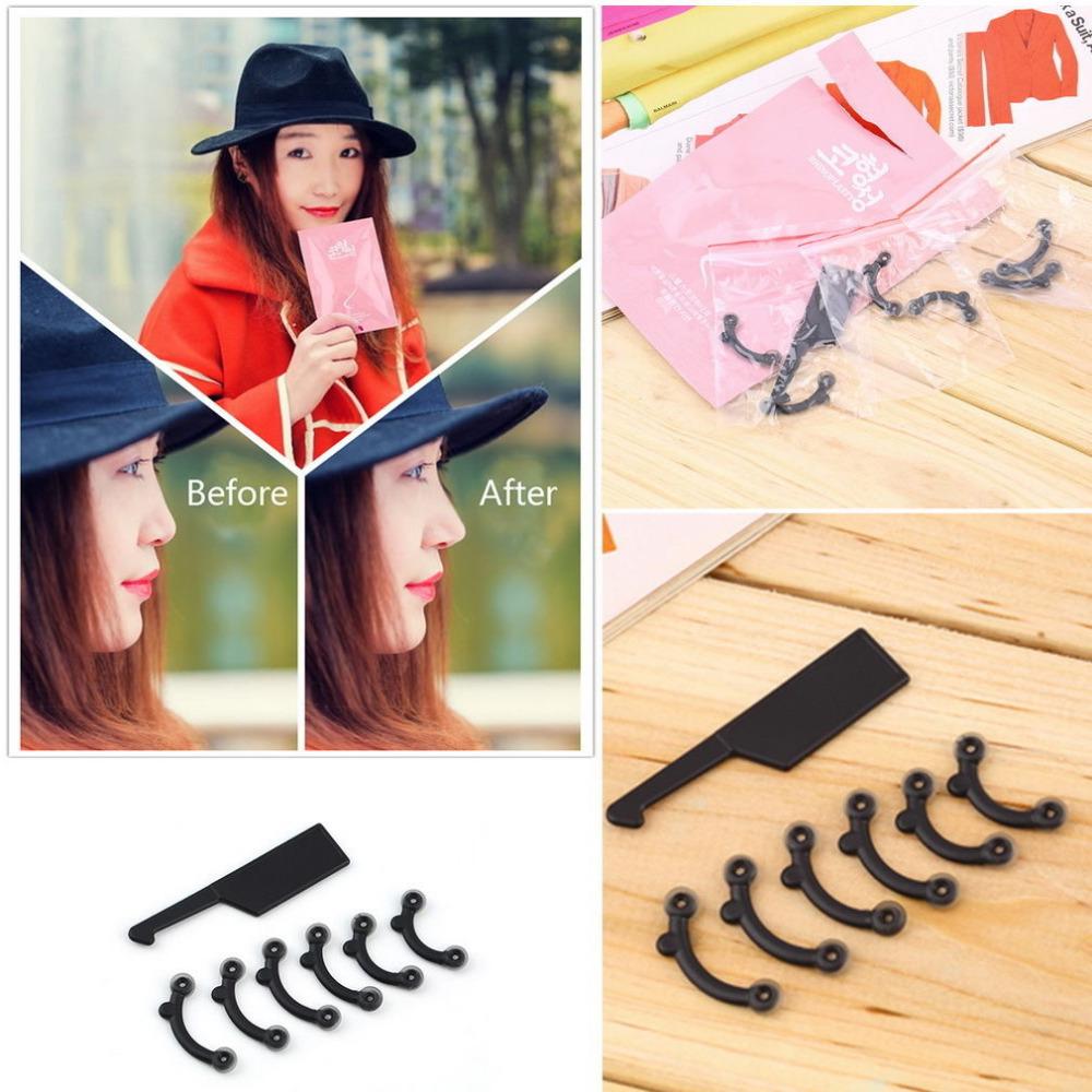Perfect 1 Set 3 Size Nose Up Lifting Shaping Clip Clipper Shaper Beauty Tool No Pain(China (Mainland))