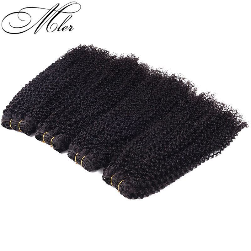 Mink Brazilian Curly Virgin Hair 4Pcs Brazilian Virgin Hair Curly Weave Beauty Kinky Curly Virgin Hair Human Weave Curly Hair