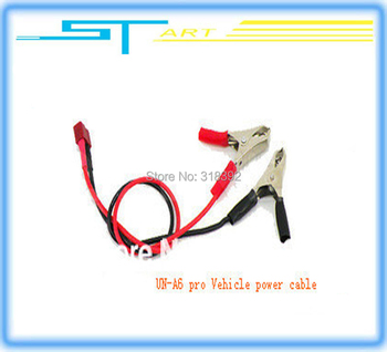 low shipping fee more convenient UN-A6 pro Vehicle power connector cable line with 16AWG silicone line Car power supply cab gift