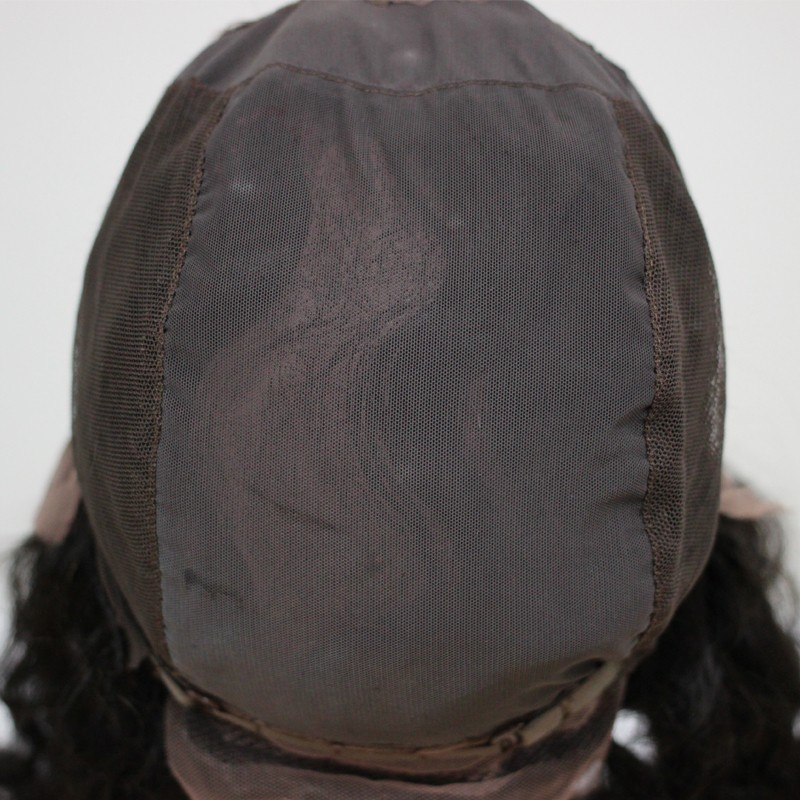 Pre Plucked Brazilian Straight 360 Lace Frontal closure With Adjustable Straps And Cap 360 Lace Virgin Hair Natural Hairline