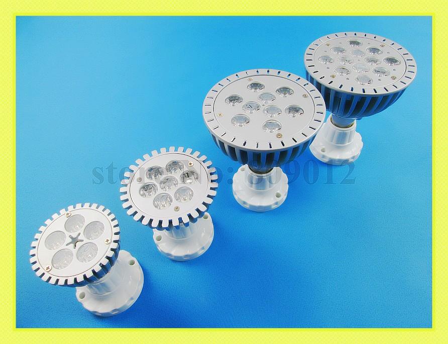 LED spotlight 5W 7W 9W 12W LED spot light lamp LED par light parlight LED light cup AC85-265V 5W 7W 9W 12W free shipping(China (Mainland))