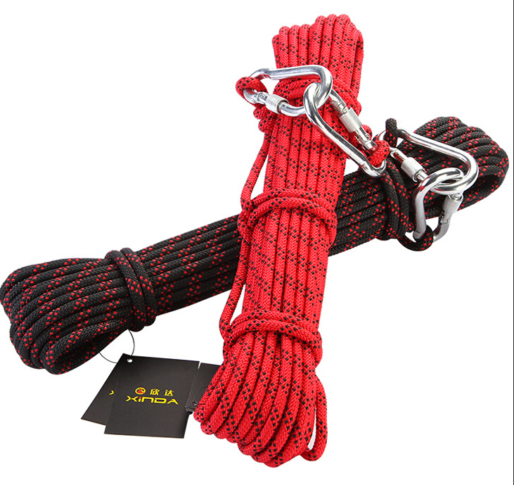 Outdoor climbing ropes safety equipment solid belt Life ropes 8MM Nylon strong ropes for Rock climbing/Aerial Work GM1419<br><br>Aliexpress