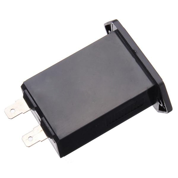 GSFY Wholesale 6-80V DC Hour Meter Low Power Consumption Securable Black Bezel