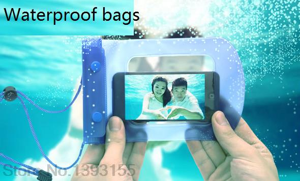 Wholesale Waterproof Bag Case Cover Swimming Beach Pouch For Zopo ZP100(China (Mainland))
