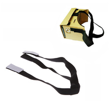 Head Strap Detachable Elastic Adjustable Head Mout Strap Belt for Google Cardboard Virtual Reality VR 3D Glasses YJ008