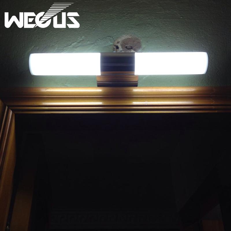 40cm minimalist led mirror light bathroom wall lamp for Minimalist bedroom lighting