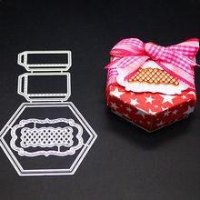 Senhora Menina Saco De Mão De Metal de Corte Morre e Scrapbooking Para Fabricação De Papel Flor Embossing Selos Quadro Ofício Cartão Bolsa Saco morre(China)