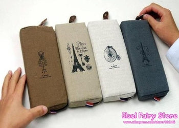 Wholesale (12pcs/lot ) Vintage memory pencil bag/Cosmetic Case//Storage Bags pouch - Free shipping