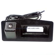 for sony ccd car rear trunk handle camera for Cadillac XTS ATS rear reverse camera night vision waterproof wide angle(China (Mainland))
