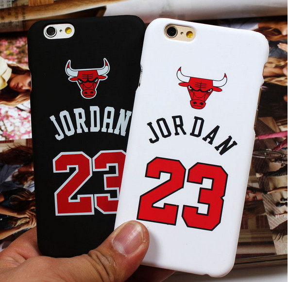 Chicago Bulls No.23 Jordan Basketball Matte PC Cover For iPhone SE 5 5S 5C 6 6S 6Plus 7 7Plus Jumpman Sports Phone Cases case(China (Mainland))