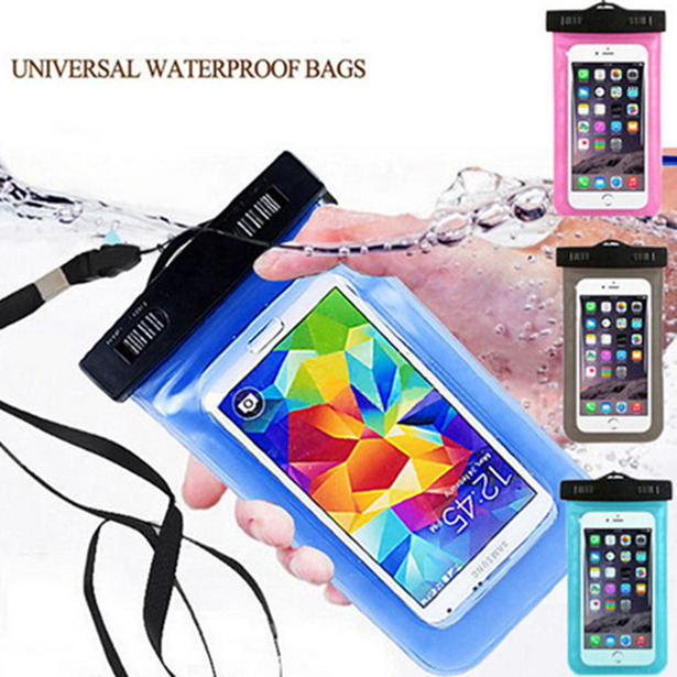 Waterproof Mobile Phone Bags with Strap Dry Pouch Cases Cover For Motorola Moto RAZR D1 XT918 Swimming Case New(China (Mainland))