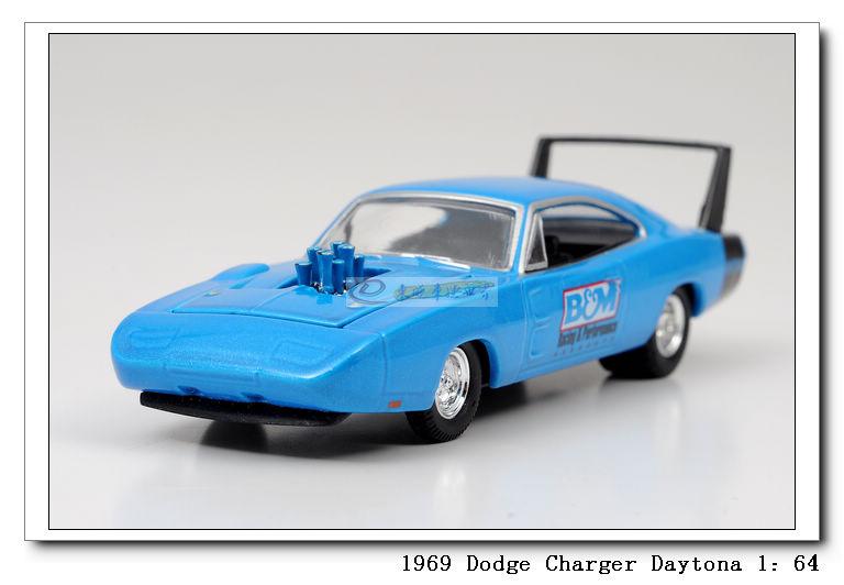 M2 4 alloy car models dodge daytona dodge charger blue(China (Mainland))