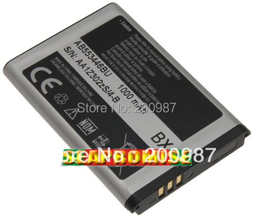 Freeshipping Retail AB553446BU (AB553446BA, AB553446BAB, AB553446BC) battery for SAMSUNG t119, m240, m320,C3303 C3300K...